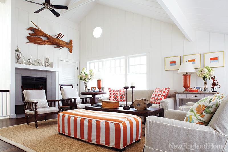 Inspirations On The Horizon Coastal Family Rooms
