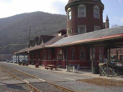 Jim Thorpe Train Station
