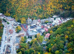 The town of Jim Thorpe