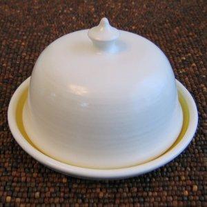 karinlorenc pottery butter dish